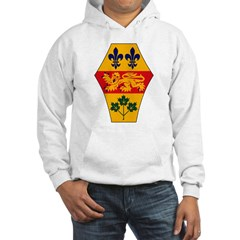 Quebec Coat of Arms Hoodie