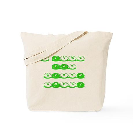 Green M&M's Tote Bag