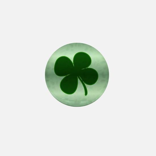 4 Leaf Clover Mini Button