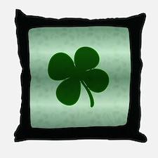 4 Leaf Clover Throw Pillow
