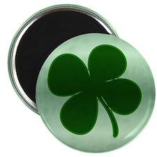 """4 Leaf Clover 2.25"""" Magnet (10 pack)"""