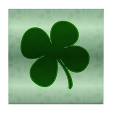 4 Leaf Clover Tile Coaster