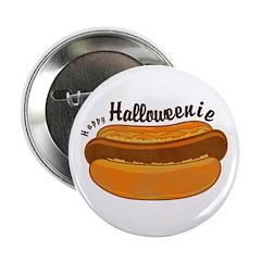 Happy Halloweenie Button