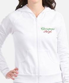 Christmas Angel Fitted Hoodie