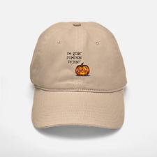 Pumpkin Picking Baseball Baseball Cap