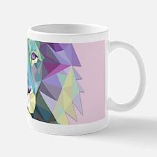 Triangle Colorful Lion Head Mugs