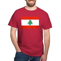 Flag of Lebanon T-Shirt