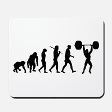 Evolution of Weightlifting Mousepad
