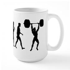 Evolution Of Weightlifting MugMugs