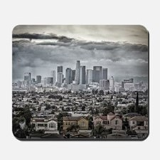 Los Angeles, East View Mousepad