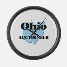 Ohio Auctioneer Large Wall Clock