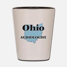 Ohio Audiologist Shot Glass