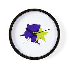 Cute Congo Wall Clock