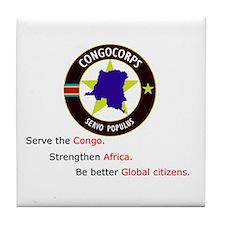 Unique Congo Tile Coaster