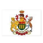 Saskatchevan Coat of Arms  Postcards (Package of 8