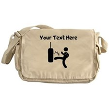 Kickboxing Bag Messenger Bag