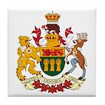 Saskatchevan Coat of Arms  Tile Coaster