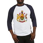 Saskatchevan Coat of Arms  Baseball Jersey