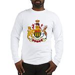 Saskatchevan Coat of Arms  Long Sleeve T-Shirt