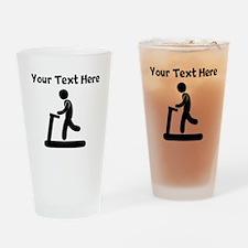 Treadmill Runner Drinking Glass