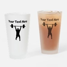 Clean And Jerk Drinking Glass