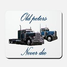 Old Peter Never Die Mousepad