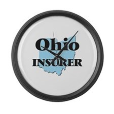 Ohio Insurer Large Wall Clock