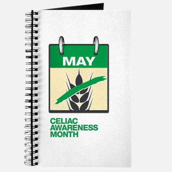 Cute Celiac awareness Journal