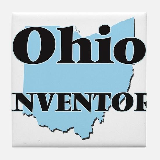 Ohio Inventor Tile Coaster