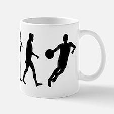 Evolution of Basketball Mug