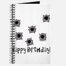 Happy Birthday Bullets Journal