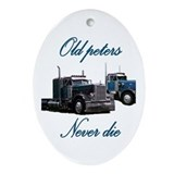 Peterbilt Oval Ornaments