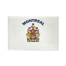 Montreal Coat of Arms Rectangle Magnet