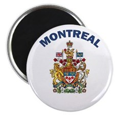 "Montreal Coat of Arms 2.25"" Magnet (10 pack)"