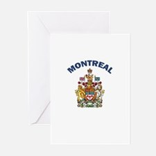 Montreal Coat of Arms Greeting Cards (Pk of 10)