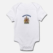 Montreal Coat of Arms Infant Bodysuit