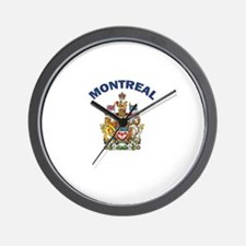 Montreal Coat of Arms Wall Clock