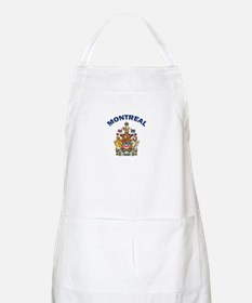 Montreal Coat of Arms BBQ Apron