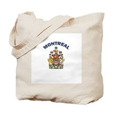 Montreal Coat of Arms Tote Bag