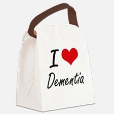I Love DEMENTIA Canvas Lunch Bag