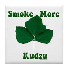 Smoke More Kudzu Tile Coaster