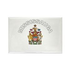 Mississauga Coat of Arms Rectangle Magnet