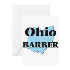 Ohio Barber Greeting Cards