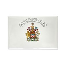 Markham Coat of Arms Rectangle Magnet