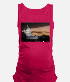 United States Capitol Building Maternity Tank Top