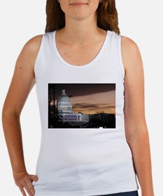 United States Capitol Building at Dusk Tank Top