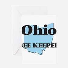 Ohio Bee Keeper Greeting Cards