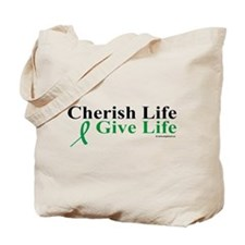 Cherish and Give Tote Bag