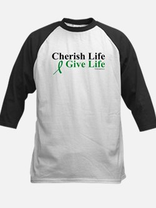 Cherish and Give Kids Baseball Jersey