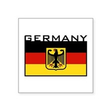 """Cool Germany coat arms Square Sticker 3"""" x 3"""""""